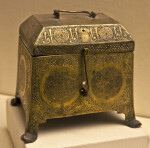 Brass Box at the Museum of Turkish and Islamic Art in Istanbul