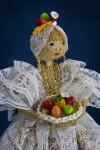 Brazilian Woman with Fruit Basket (Three-Quarter Close-Up)