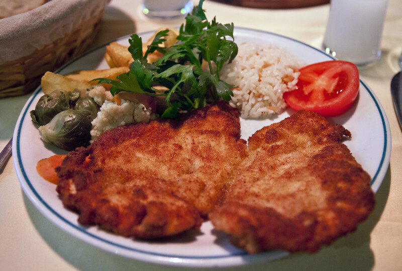 Breaded Cutlet Dish