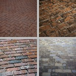Brick Pavements photographs