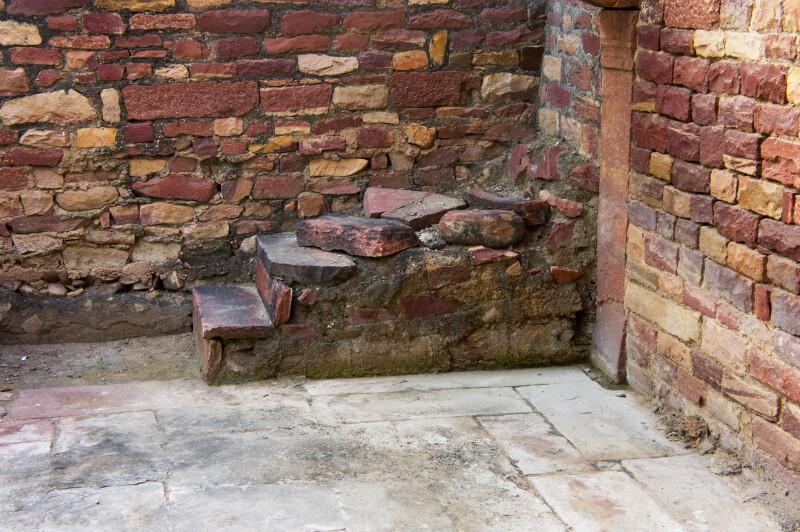 Brick Walls in Fatehpur Sikri