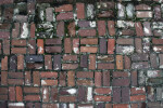 Bricks That Were Laid with a Basket Weave Pattern