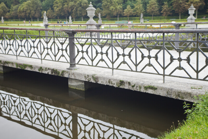 Bridge Over Canal at Nymphenburg Palace