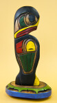 British Columbia, Canada Kwakuitl First Nation Eagle (Profile View)