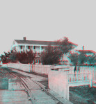 Brock House by the Railroad Tracks