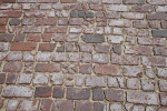 Broken Brick Pavement