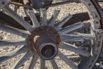 Broken Spokes on the Castolon Wagon