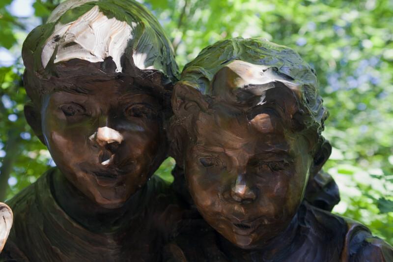 Bronze Boy and Girl
