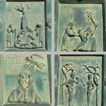Bronze doors of Bonannus of Pisa, Monreale cathedral photographs