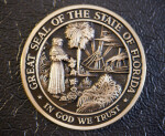 Bronze Florida Seal