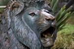 Bronze Lion Close-Up