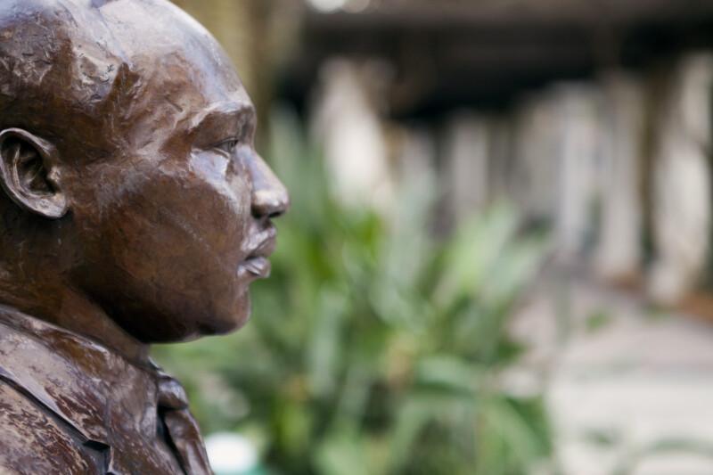 Bronze MLK Statue