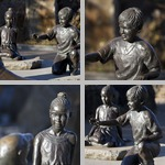 Bronzes photographs