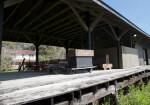 Brooksville Rail Depot Platform