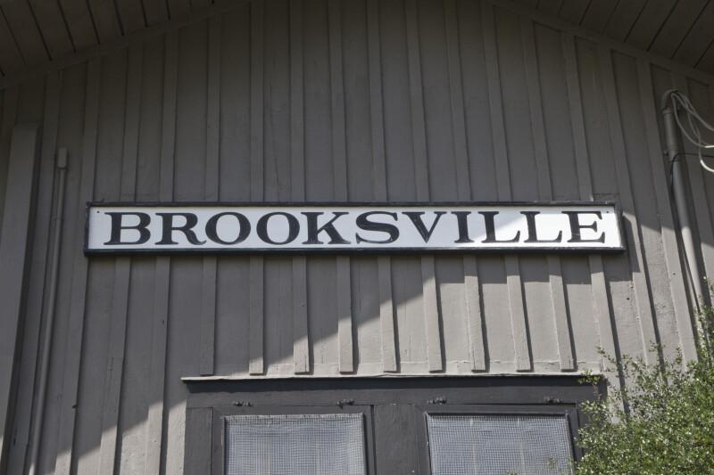 Brooksville Sign