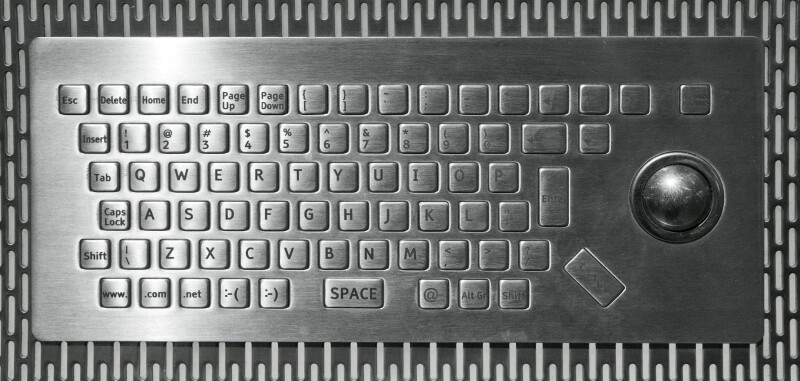Brushed Metal Keyboard