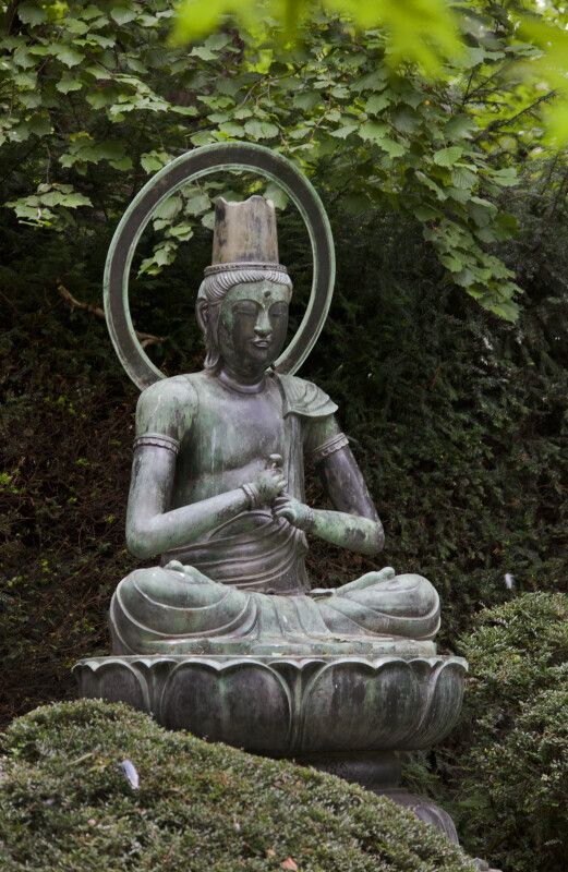 Buddha Statue at the Artis Royal Zoo