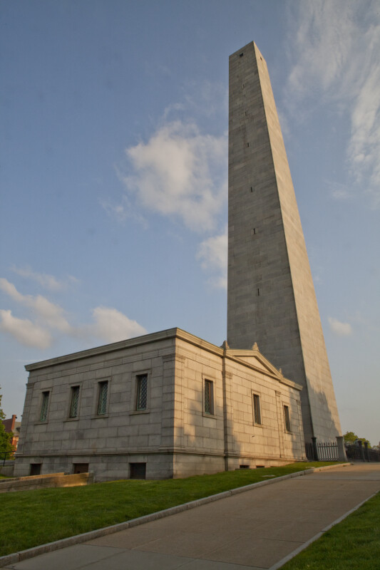 Bunker Hill Monument and Exhibit Lodge