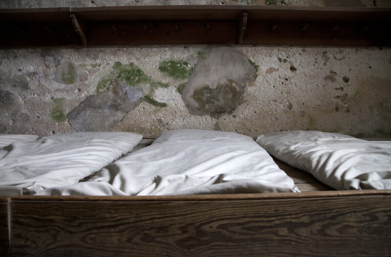 Bunks with a Thin Mattresses