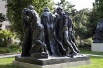 Burghers of Calais Rear