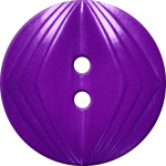 Button with Concentric Diamond Design, Purple