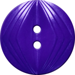 Button with Concentric Diamond Design, Violet