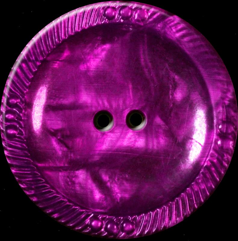 Button with Decorative Border, Purple