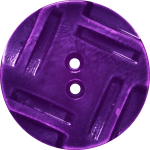 Button with Insribed Rectangles Design, Purple