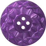 Button with Twelve-Pointed Intertwining Border, Purple