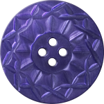 Button with Twelve-Pointed Intertwining Border, Violet