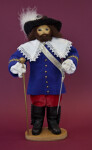 Canada Governor Figure Holding a Sword and Scepter (Full View)
