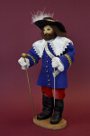 Canada Hand Made Male Doll Depicting a Former Governor by Jeannette Katz (Three Quarter View)