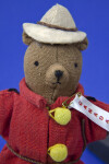 Canada Stuffed Bear Dressed as a Canadian Mountie (Full View)