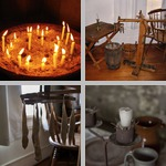 Candles photographs