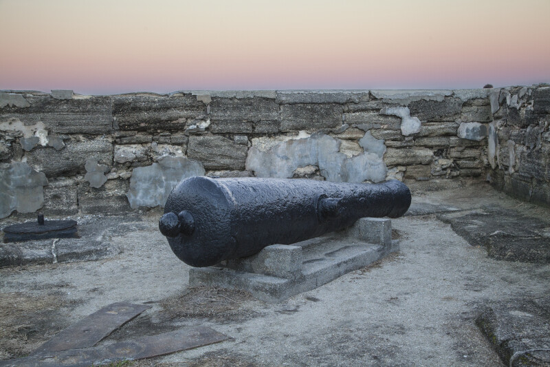 Cannon at Castillo de San Marcos