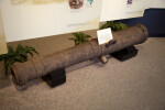 Cannon on Display at the Timucuan Preserve Visitor Center of Fort Caroline National Memorial
