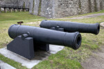 Cannons on Cannon Carriages