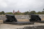 Cannons on the Gun Deck of Castillo de San Marcos