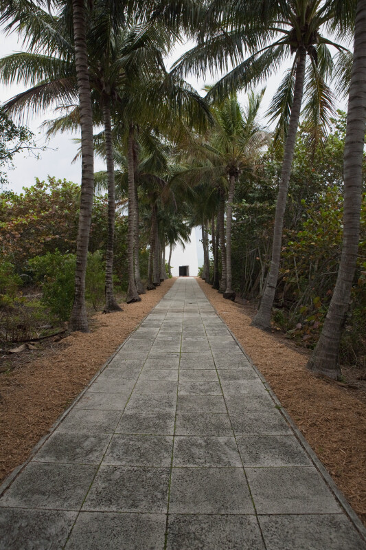 Cape Florida Lighthouse and Walkway