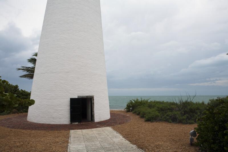 Cape Florida Lighthouse Base