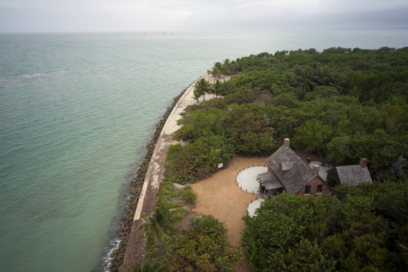 Cape Florida Lighthouse Keeper's House