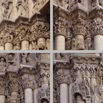 Capital friezes with figural decoration photographs