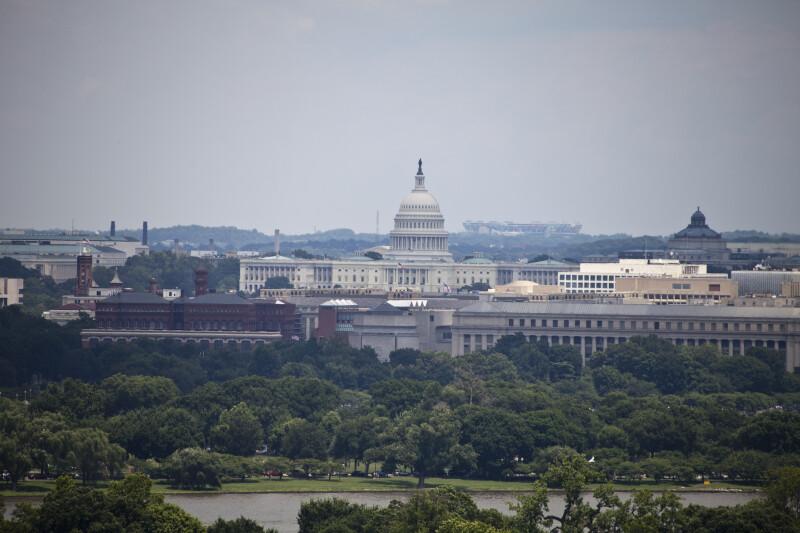 Capitol Building from Arlington