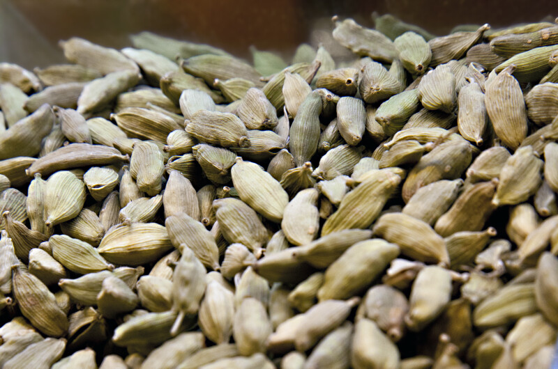 Cardamom at the Spice Bazaar in Istanbul, Turkey