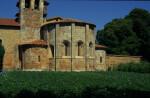 Carrizo, Santa Maria, apses, exterior