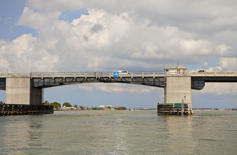 Cars on Drawbridge