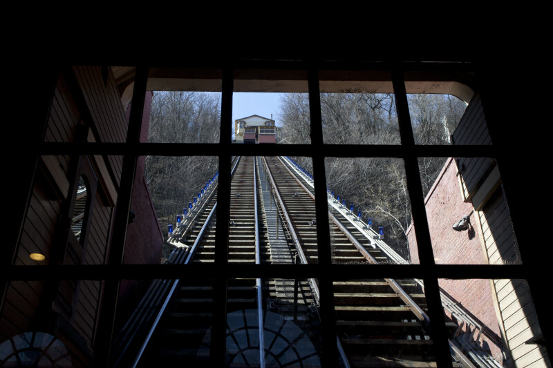 Cars on Monongahela Incline
