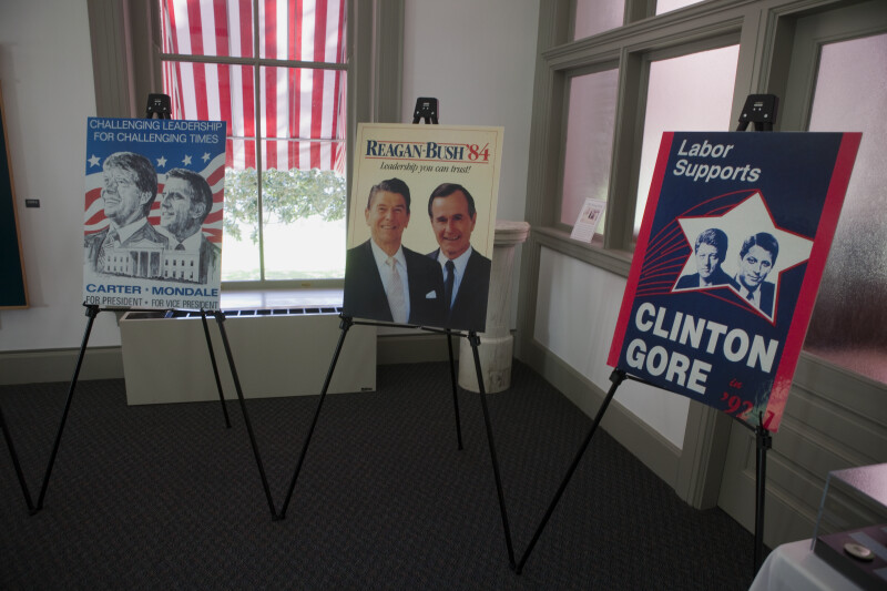 Carter, Reagan, and Clinton Posters