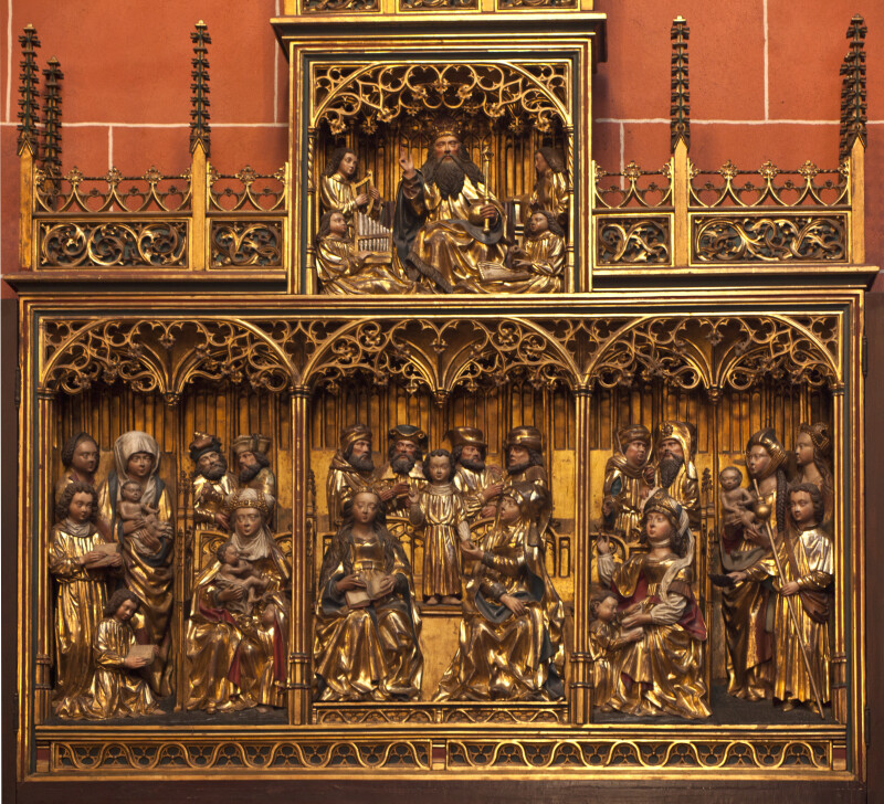 Carved Altarpiece at Frankfurt Cathedral