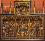 Carved Altarpiece at Frankfurt Cathedral